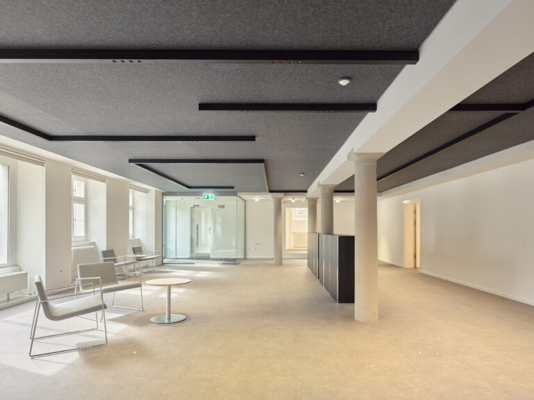 Lichtprojekt in Zürich
