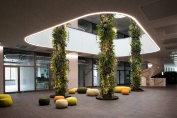 Pflanzenleuchten für Givaudan Innovation Center